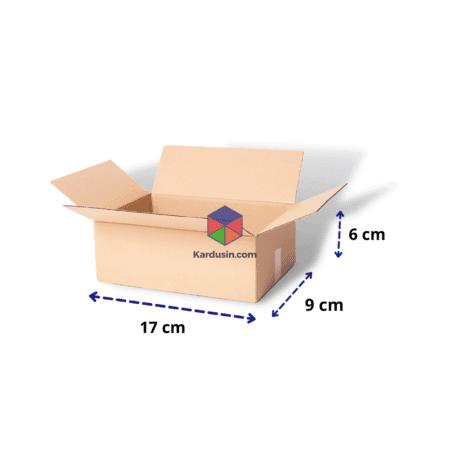 KARDUS | BOX | KARTON PACKING 17x9x6