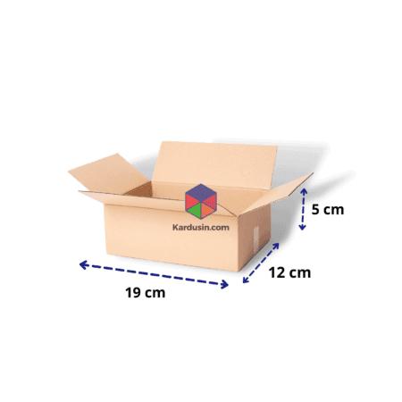 KARDUS | BOX | KARTON PACKING 19x12x5