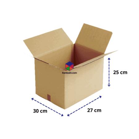 KARDUS | BOX | KARTON PACKING 30x27x25